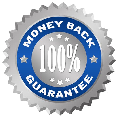 We offer 100% money back guarantee on our custom foot orthotics