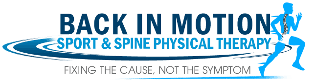 Back In Motion Sport and Spine Physical Therapy Retina Logo