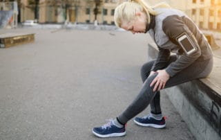 Running injuries can stem from not having enough hip mobility.