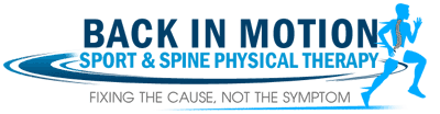 Back In Motion Sport and Spine Physical Therapy Logo