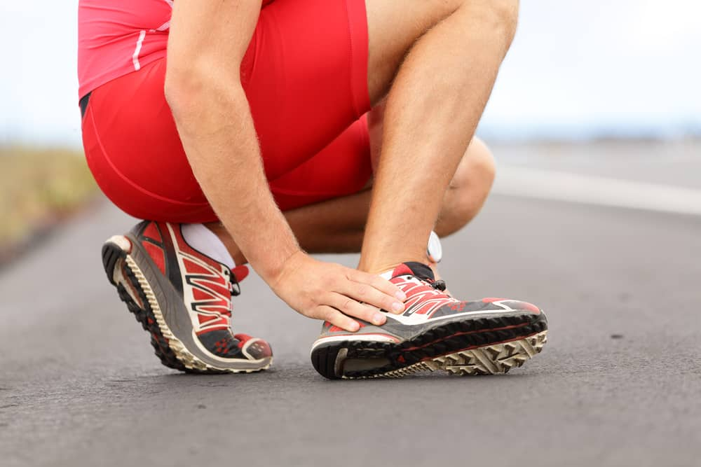 One of the most common sports injuries is an ankle sprain