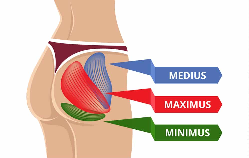 Hip bursitis happens when the bursa gets inflamed around the greater trochanter and glue muscles
