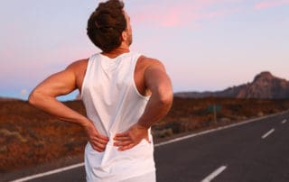 common causes of back pain include infection adn bending improperly