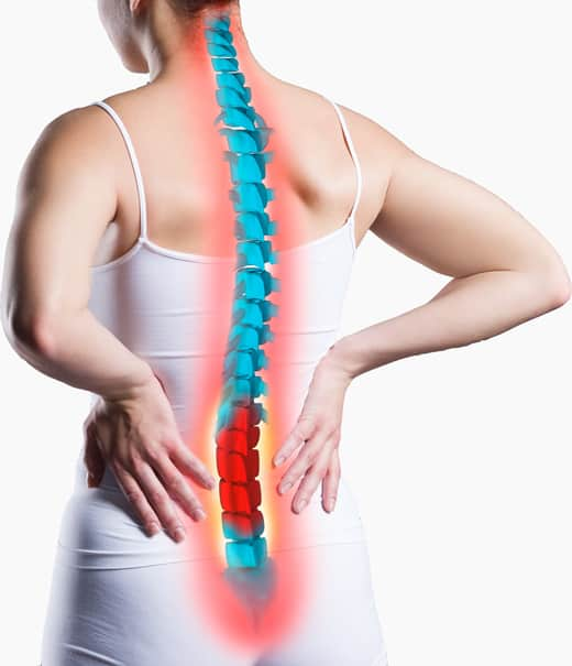 herniated disc treatment can be non-invasive in our Fort Myer's clinic