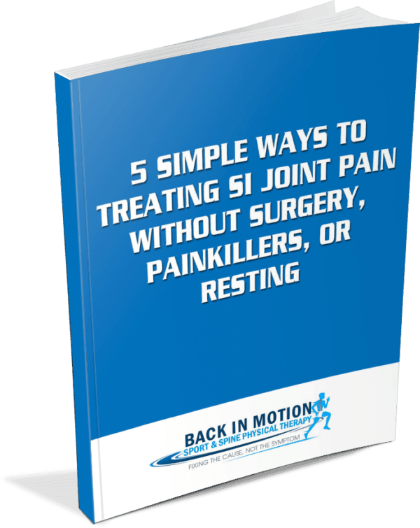 FREE PAIN GUIDE - Sacroiliac Joint Treatment & SI Joint Specialist
