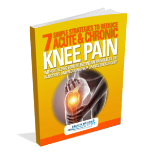 Get Dr. Scott Gray's best selling free report on knee pain and knee pain treatment