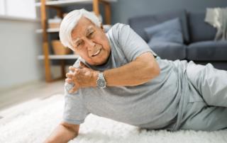 Elderly Man Fallen